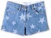 Stella McCartney denim phoenix star shorts