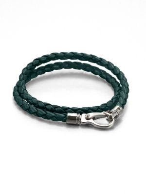 Tod's Leather Double-Wrap Bracelet