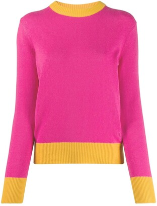 Tory Burch Contrast-Trim Sweater