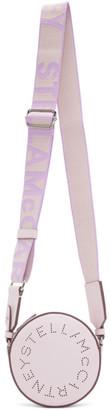 Stella McCartney Purple Round Logo Bag