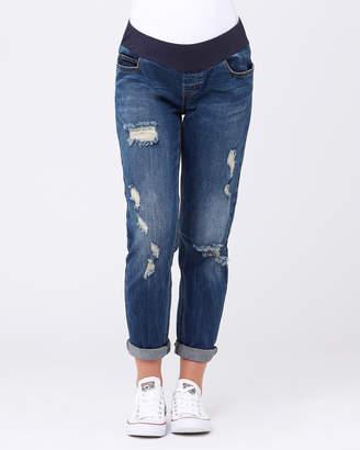 Ripe Maternity Baxter Boyfriend Jeans
