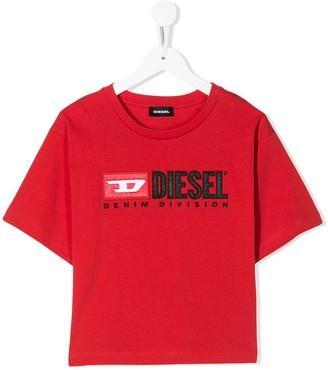 Diesel short sleeve logo T-shirt