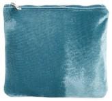BP Small Velvet Pouch - Blue