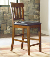 Signature Design by Ashley Ralene Counter Height Upholstered Barstool set of 2