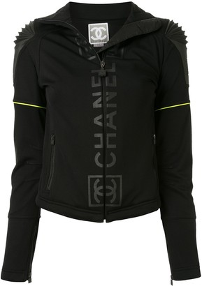 Chanel Pre Owned Sports Line zipped jacket