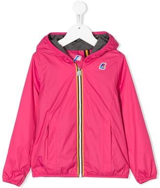 K Way Kids Hooded Zipped Jacket