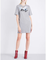 Kenzo Printed cotton-jersey T-shirt dress