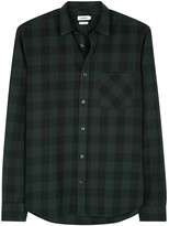 J.lindeberg Daniel Checked Cotton Shirt