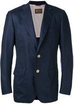 Loro Piana buttoned blazer - men - Silk/Cupro/Cashmere/Goat Suede - 48