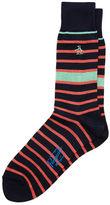 Original Penguin Colored Bold Stripe Sock