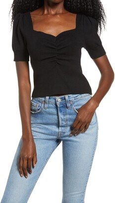 Endless Rose Ruched Front Top