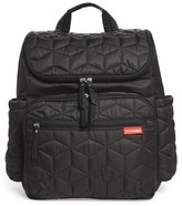 Skip Hop Infant 'Forma' Diaper Backpack - Black