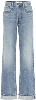 RE/DONE '90s Relaxed mid-rise straight jeans