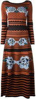 Temperley London long venture knit dress