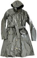 Rains Khaki Polyester Trench coats
