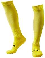 Huathy Men's Compression Socks Knee-High Long Sports Hose Professional Football Stockings
