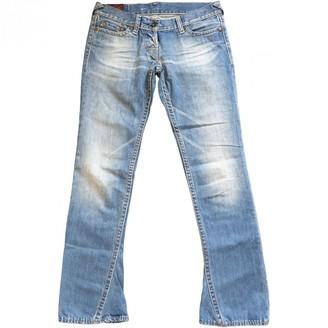 Evisu Blue Denim - Jeans Trousers for Women