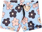 Mini Rodini Light Blue Flower Swimpants