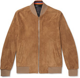 Paul Smith - Suede Bomber Jacket
