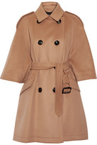 Burberry Wool And Cashmere-blend Coat - Camel