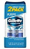 Gillette Endurance Antiperspirant and Deodorant, Cool Wave Clear Gel - 3.8 Oz Ea, 2 Count