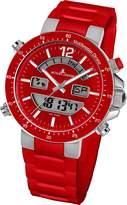 Jacques Lemans Milano 1-1712D 46mm Stainless Steel Case Silicone Mineral Men's & Women's Watch