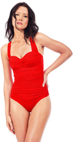 Voda Swim Scarlet Envy Push Up Bandeau One Piece