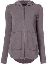 ATM Anthony Thomas Melillo zipper hoodie - women - Cotton - XS