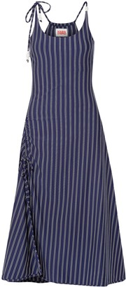 Solid & Striped 3/4 length dresses