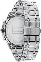 Tommy Hilfiger Tommy Hilfiger Kyle Grey Sunray Chronograph Dial Stainless Steel Bracelet Mens Watch