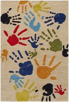 Momeni Lil Mo Whimsy Hands - Ivory, 2 x 3