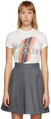 Simon Miller White Mesa Fitted T-Shirt