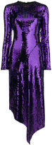 Preen by Thornton Bregazzi Clarissa sequin long sleeve dress