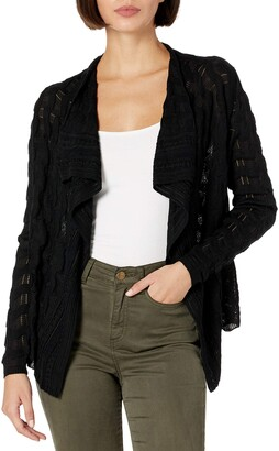 M Missoni Women's Solid Knit Cardigan