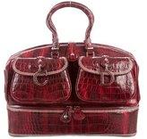 Christian Dior Large Crocodile Detective Bag