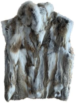 Adrienne Landau Multicolour Rabbit Coats