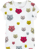Kenzo All-over tiger print T-shirt