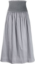 Totême Safara ruched waist skirt