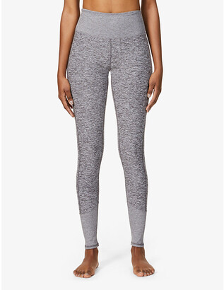 Alo Yoga Alosoft Lounge high-rise stretch-woven leggings