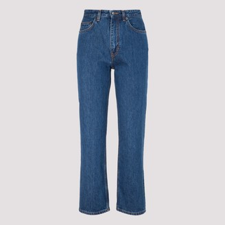 The Row Christie Straight Leg Jeans