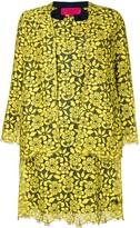 Christian Lacroix Pre Owned floral lace dress & jacket