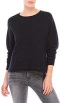 James Perse French Terry Drop Shoulder Sweatshirt