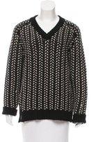 Thakoon Wool V-Neck Sweater