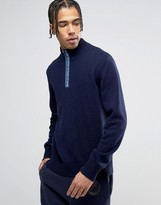 Love Moschino High Neck Jumper With Neck Print