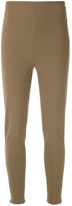 Gloria Coelho High Waisted Skinny Trousers