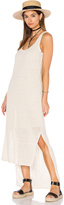 Heather Linen Hi Lo Tank Dress