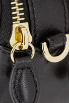 Mulberry Bow-embellished leather pouch