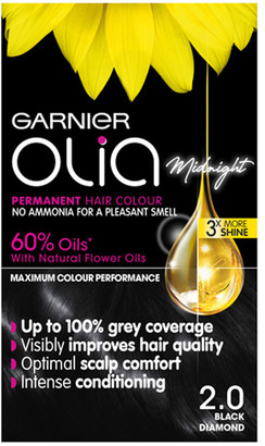 Garnier Olia Oil-Powered Permanent Hair Colour 2 Black Diamond