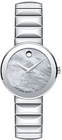 Movado Bold Sapphire Stainless Steel Bracelet Watch