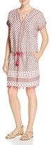 Scotch & Soda Tasseled Scarf Print Dress